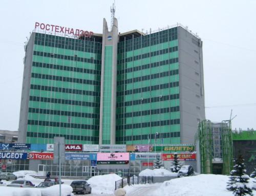 Общественно-деловой комплекс в Орджоникидзевском районе г. Уфы
